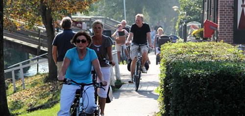 fietsen-in-giethoorn