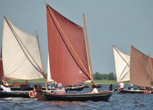 sailing in Giethoorn