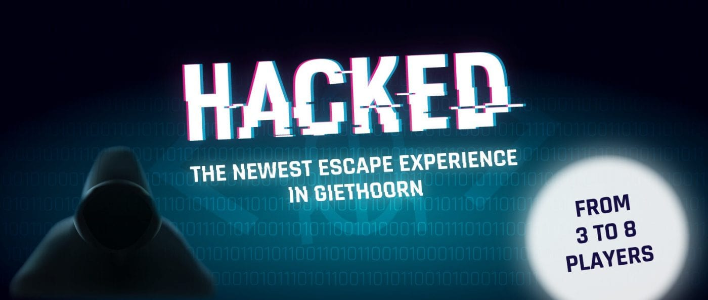 escaperoom hacked in giethoorn